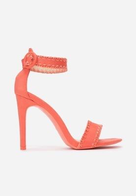 Koralowe Sandały 37