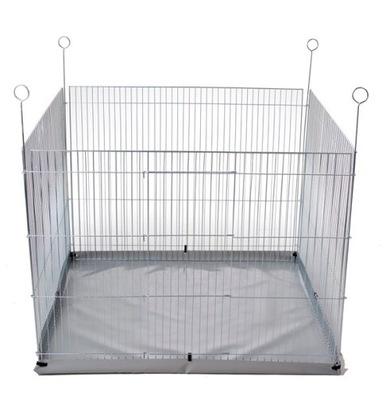 Высокий манеж , клетка для собаки, кролика с полом