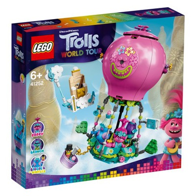 LEGO Trolls Przygoda Poppy w balonie 41252