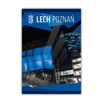 Zeszyt szkolny A5 Lech Poznań Stadion Nocą