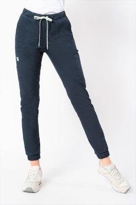 Spodnie damskie medyczne joggery Sonia granat M