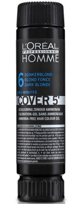 LOREAL HOMME COVER 5 ODSIWIACZ - NR 6 ciemny BLOND