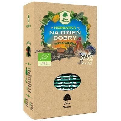 Herbatka na dzień dobry BIO - Dary Natury - 25x1,5