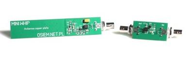 Antena odbiorcza KF - Mini Whip - 3xBNC