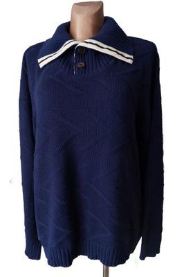 POLO RALPH LAUREN klasyczny sweter bawełna XXL
