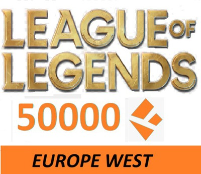 League of Legends smurf konto LOL EUW 50k BE