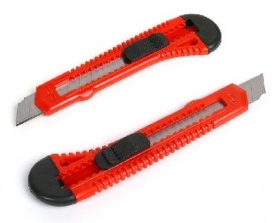 NÓŻ DO TAPET duży BIUROWY metalowy nożyk STARPAK