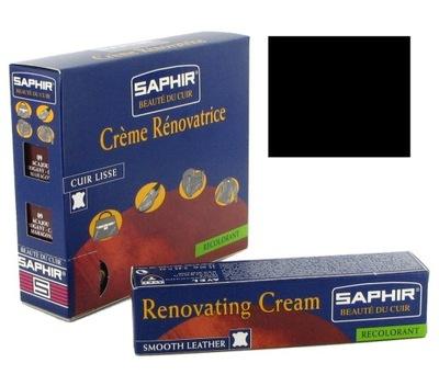 SAPHIR RENOVATING CREAM KREM DO KIEROWNIC CZARNY