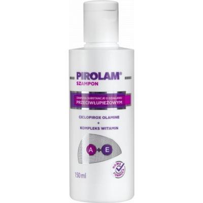 Pirolam szampon przeciwłupieżowy z wit A+E 150ml