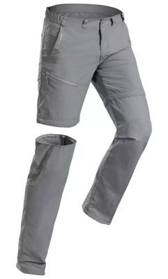 Spodnie Spodenki 2w1 Męskie Trekkingowe QUECHUA XL