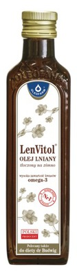 льняное масло LENVITOL Ноль ,25 BUDWIG ХОЛОДНОГО ОТЖИМА