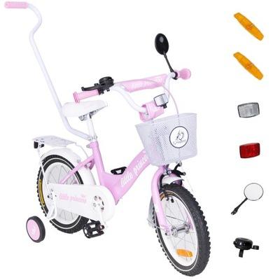 rower rowerek 14 cali BMX Tomabike kosz kółka