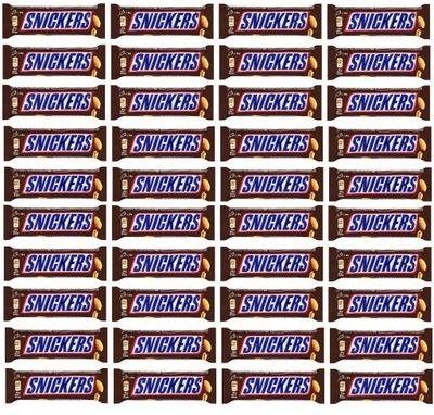 батон Сникерс карамель шоколад 50? х 40 штук