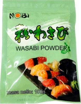 паста Васаби порошок зеленый Хрен Суши 100 г