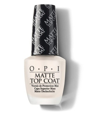 OPI Top Coat Matte 15 ml #NT T35 Utwardzacz matowy