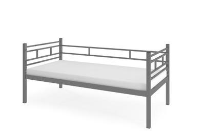 кровать Кровать AGNES Серые 80 МАТРАС пенный