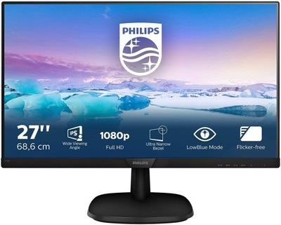 "Monitor LED Philips 273V7QJAB/00 27"" IPS/PLS"
