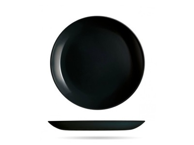 Talerz deserowy 19 cm czarny DIWALI LUMINARC