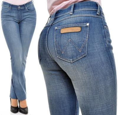 WRANGLER spodnie STRAIGHT regular DREW _ W27 L34