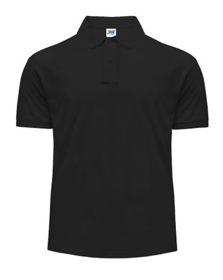 Koszulka Polo Męskie Polówka męska czarna