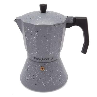 Кофеварка KonigHOFFER Grey Stone Marble 450 мл