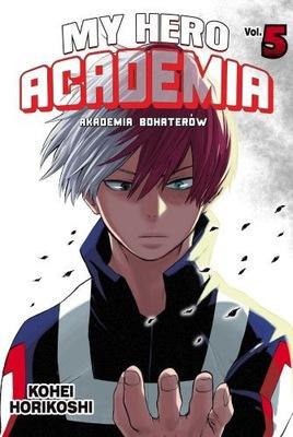 MY HERO ACADEMIA #5 - MANGA - NOWY