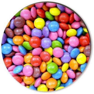 podkładki kubki szklanki CUKIERKI kolorowe 6 szt