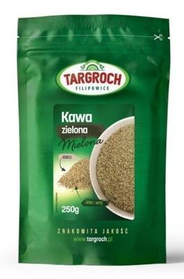 TARGROCH кофе зеленый молотая 250 г для похудения