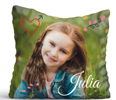 подушка фото подарок День Ребенка js