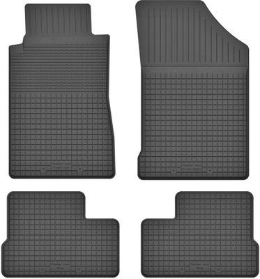 Dywaniki gumowe wycieraczki do PEUGEOT 206 98-12