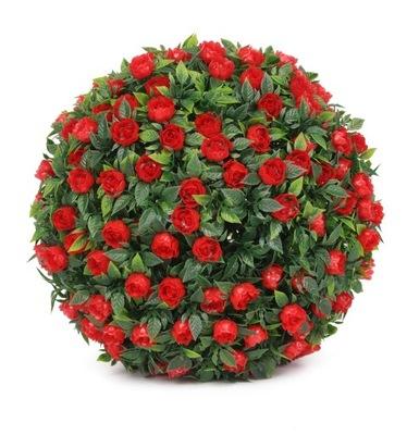 ??? FLORAL роза 18 СМ искусственные цветы красная