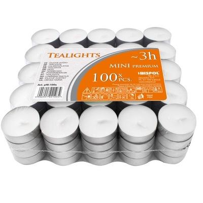 Tealight ПОДОГРЕВАТЕЛЬ 100 штук нагреватели свечи