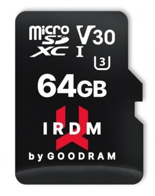 Karta pamięci Goodram IRDM 64GB + Adapter 100MB/s