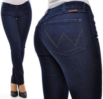 WRANGLER spodnie SKINNY low waist COURTNEY W25 L32