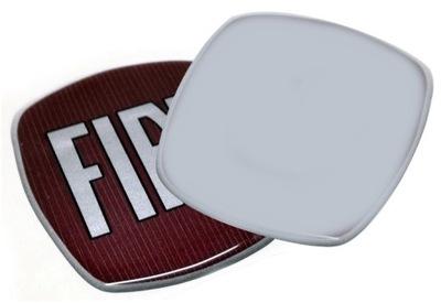 Znaczek logo Fiat 95mm reperaturka przód tył