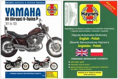 Yamaha Virago XV 535 700 750 920 1000 1100 Haynes