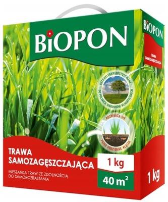 Biopon Трава Samozagęszczająca 1 кг ПОЛНОЕ