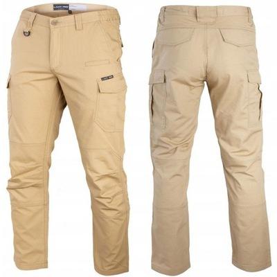 LAHTI PRO Spodnie robocze bojówki Slim Fit r. XL