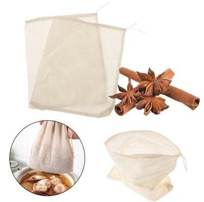 Bawełniana torba do gotowania mięsa przypraw