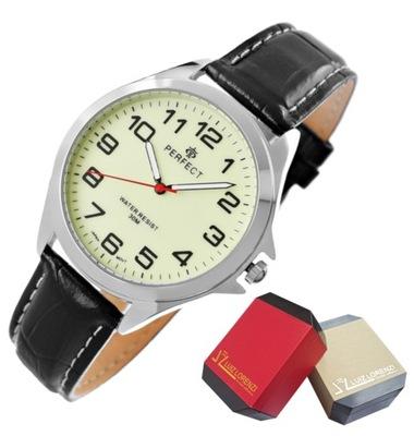 Zegarek Męski PERFECT Fluorescencja + PUDEŁKO