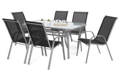 металлические мебель садовое комплект 6 +1 Севилья