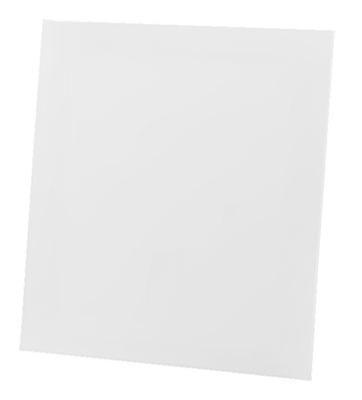 Ventilátor gril DRIM biely lesk plexisklo