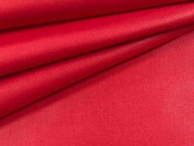 TKANINA BAWEŁNIANA Jednobarwna czerwona 1 MB