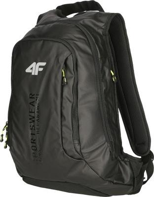 Plecak 4F czarny szkolny sportowy 15 l