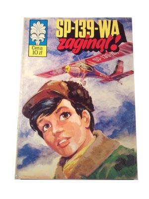 KAPITAN ŻBIK SP-139-WA ZAGINĄŁ! wyd. I 1975 r.