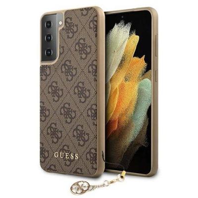 Etui Guess 4G Charms Collection Case do Galaxy S21