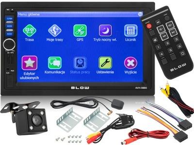 RADIO DE AUTOMÓVIL 2 DIN BLOW USB SD GPS CÁMARA