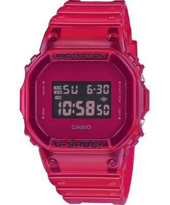Zegarek G-SHOCK DW-5600SB-4ER Stoper 20bar Czerwon