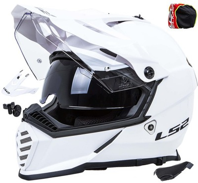 KASK MOTOCYKLOWY LS2 MX436 PIONEER EVO QUAD r 3XL