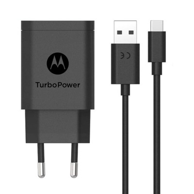 Ładowarka Motorola QC+kabel USB-C do Moto Z4 Play
